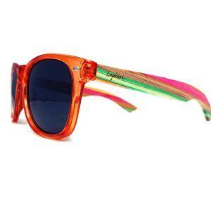 Juicy Fruit Bamboo Polarized Sunglasses